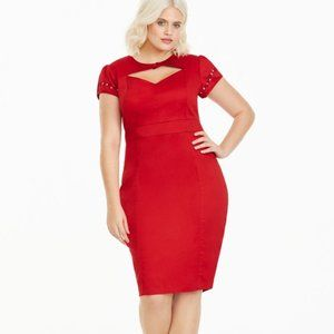 Betty Boop Torrid 16 Red Pin Up Dress Peekaboo